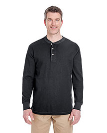 Ultraclub 8456 Men Thermal Henley