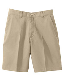 Edwards 8459 Women Moisture Wicking Zipper Back Pocket Flat Front Short