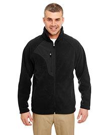 Ultraclub 8495 Men Fullzip Microfleece Jacket With Pocket