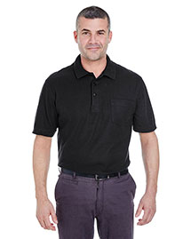 Ultraclub 8544 Men Pocket Pique Polo