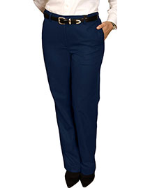Edwards 8579 Women Blended Chino Flat Front Pant