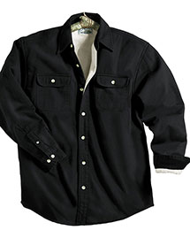 Tri-Mountain 869 Men Big And Tall   Denim Shirt Jacket With Fleece Lining