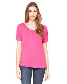 Bella 8816 Women Flowy Simple T-Shirt at bigntallapparel