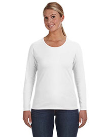 Anvil 884L Women Ringspun Long-Sleeve T-Shirt