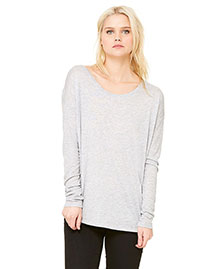 Bella 8852 Women Flowy Long-Sleeve T-Shirt With 2x1 Sleeves