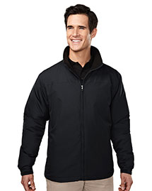 Tri-Mountain 8880 Men 100% Polyester Long Sleeve Jacket With Water Resistent