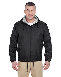 Ultraclub 8915 Men Fleece Lined Jacket