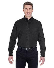 Ultraclub 8975T Men Tall Whisper Twill Shirt
