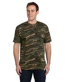Anvil 939 Men 4.9 Oz., 100% Ringspun Cotton Camouflage T-Shirt at bigntallapparel