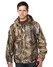 Tri-Mountain 9486C Men 100% Polyester Camo Jacket