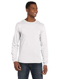 Anvil 949 Men 4.5  Oz. Ringspun Cotton Fashion Fit Long-Sleeve T-Shirt at bigntallapparel