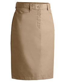 Edwards 9711 Women Chino Skirt Medium 25