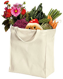 Port Authority B100ORG  100% Organic Cotton Grocery Tote at bigntallapparel