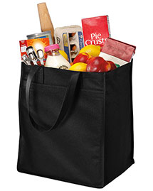 Port & Company B160  Extra-Wide Polypropylene Grocery Tote