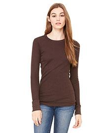 Bella B8500 Women Thermal Long-Sleeve T-Shirt at bigntallapparel