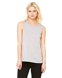 Bella B8803 Women Flowy Scoop Muscle T-Shirt