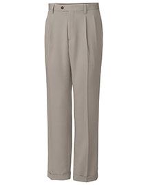 Cutter & Buck BCB01824 Men Twill Microfiber Pleated Pant Unhemmed at bigntallapparel