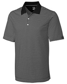 Cutter & Buck BCK00332 Men Cb Drytec Trevor Stripe