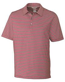Cutter & Buck BCK09372 Men Division Stripe Polo