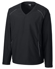 Cutter & Buck BCO00924 Men Cb Weathertec Beacon V-Neck Jacket