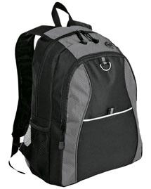 Port & Company BG1020  New   Contrast Honeycomb Backpack at bigntallapparel