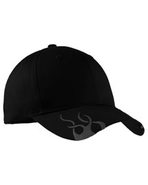 Port Authority C857  Racing Cap With Flames at bigntallapparel