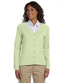 Chestnut Hill CH405W Women Six-Button Cardigan at bigntallapparel