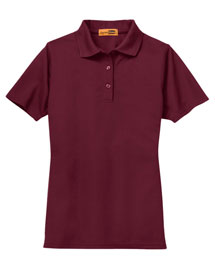 Cornerstone CS403 Women Menindustrial Pocketless Pique Polo