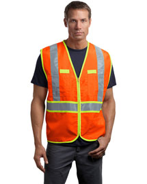 Cornerstone CSV407 Men Ansi Class 2 Dual-Color Safety Vest