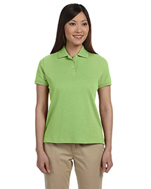 Devon & Jones D140SW Women Solid Perfect Pima Interlock Polo