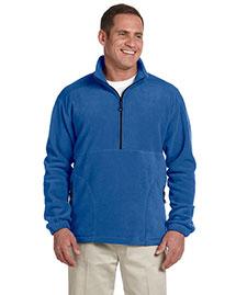 Devon & Jones D775 Men Wintercept Fleece Quarter-Zip Jacket