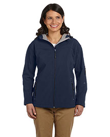 Devon & Jones D998W Women Hooded Soft Shell Jacket