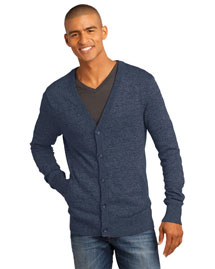 District Threads DM315 Men   Cardigan Sweater