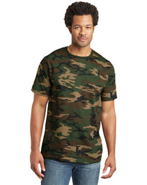District Threads DT104C Men Camo Perfect Weight  Tee