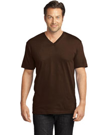 District Threads DT1170 Men Perfect Weight V Neck Tee
