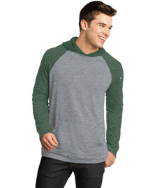 District Threads DT128 Men 50/50 Raglan Hoodie