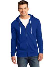 District Threads DT190 Men Core Fleece Full-Zip Hoodie