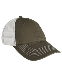 District Threads DT607  Mesh Back Cap at bigntallapparel