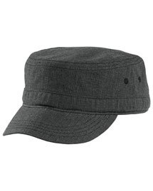 District Threads DT619  Houndstooth Military Hat