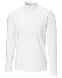 Cutter & Buck ECK00365 Men Cb Drytec Long Sleeve Tour Compression Mock at bigntallapparel