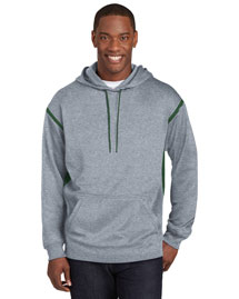 Sport-Tek F246 Men Tech Fleece Hooded Sweatshirt