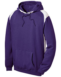 Sport-Tek F264 Men Pullover Hooded Sweatshirt With Contrast Color at bigntallapparel