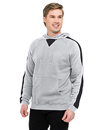 Tri-Mountain F685 Men 60% Cotton 40% Polyester Pullover Ultra Cool Sweat Shirt With Hood at bigntallapparel