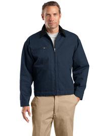 Cornerstone TLJ763 Men Tall Duck Cloth Work Jacket at bigntallapparel