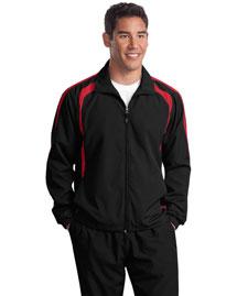 Sport-Tek JST60 Men Colorblock Raglan Jacket
