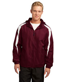 Sport-Tek JST81 Men Fleece-Lined Colorblock Jacket