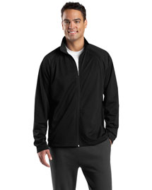 Sport-Tek JST90 Men Tricot Track Jacket at bigntallapparel