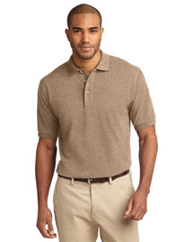 Port Authority K420 Men Pique Knit Sport Shirt at bigntallapparel