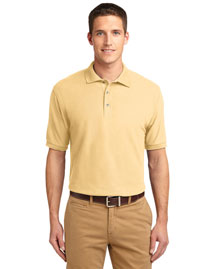 Port Authority K500ES Men Extended Sized Silk Touch Polo Sport Shirt