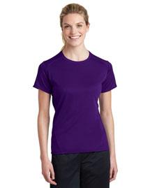 Sport-Tek L473 Women Dry Zone Raglan Accent T-Shirt at bigntallapparel
